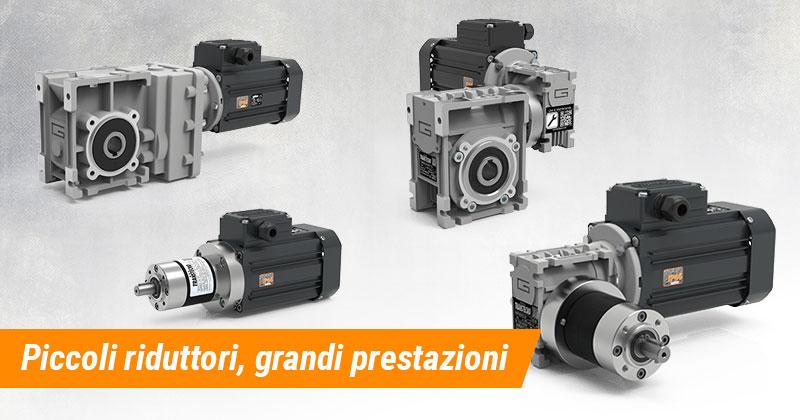 Mini Motoriduttori per grandi progetti di automazione industriale