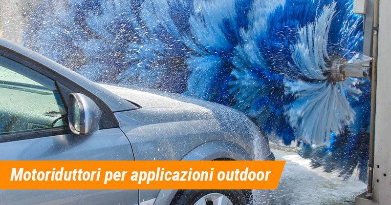 Motoriduttori Elettrici con Certificazione IP per progetti outdoor